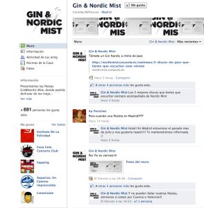 Fan Page Nordic Mist