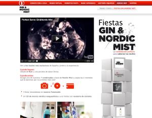 Seccion web Nordic Mist