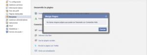 Facebook Fusionar paginas
