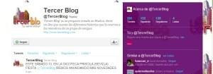 Perfil Twitter Tercerblog