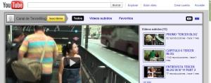 Canal Youtube de Tercerblog