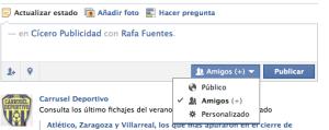 Facebook Pantallazo
