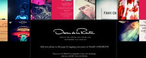Pantallazo Tumblr Oscar de la Renta