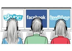 Call center redes sociales