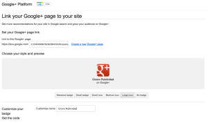 Captura developers Google+ Page