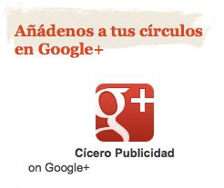 Widget Googlee+ Page Cicero Publicidad