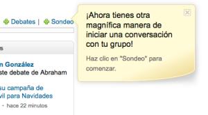 Sondeos en Linkedin
