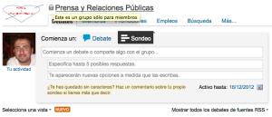 Linkedin Sondeos