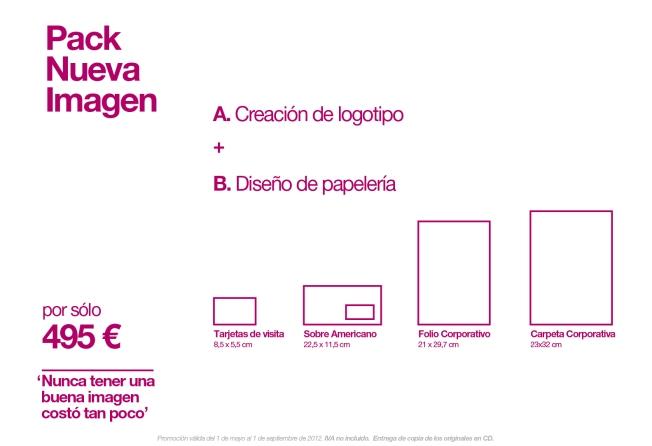 Pack Nueva Imagen Diseño Huelva Promocion
