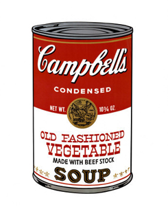 Campbell´s Soup Packaging